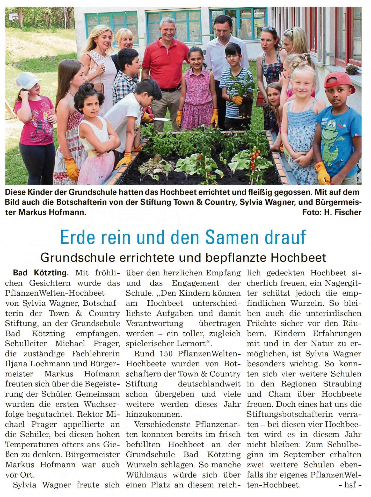 netzwerk natur, PflanzenWelten in Bad Kötzting, Chamland aktuell vom 12.07.2017