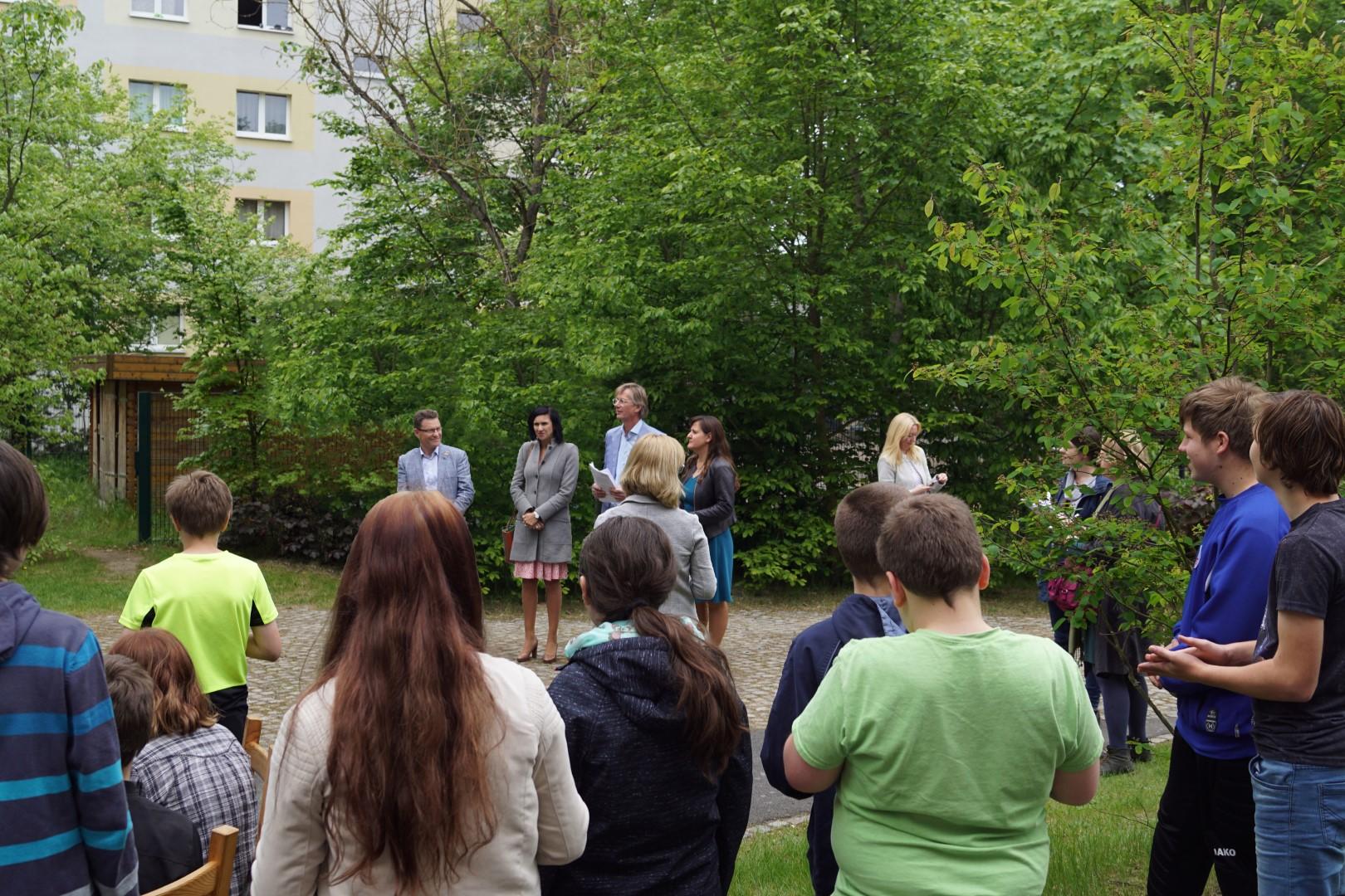 netzwerk natur, 222. Hochbeet und Un-Dekade-Auszeichnung Potsdam