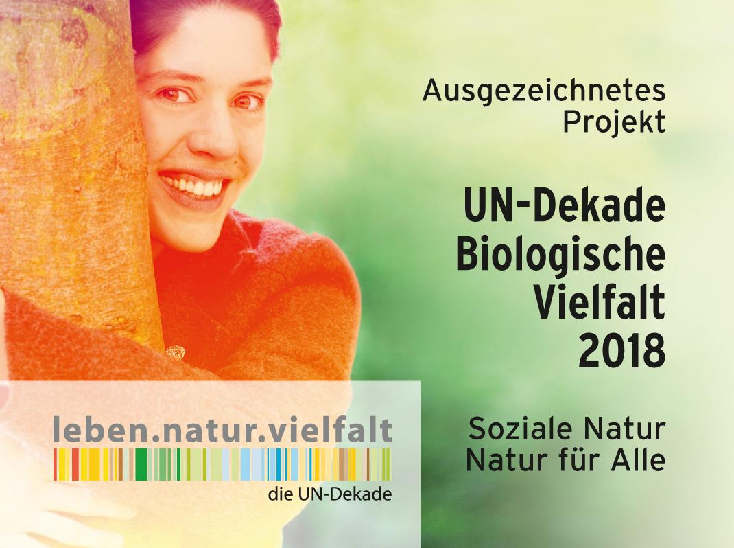 Die PflanzenWelten-Hochbeete sind ausgezeichnetes UN-Dekade-Projekt